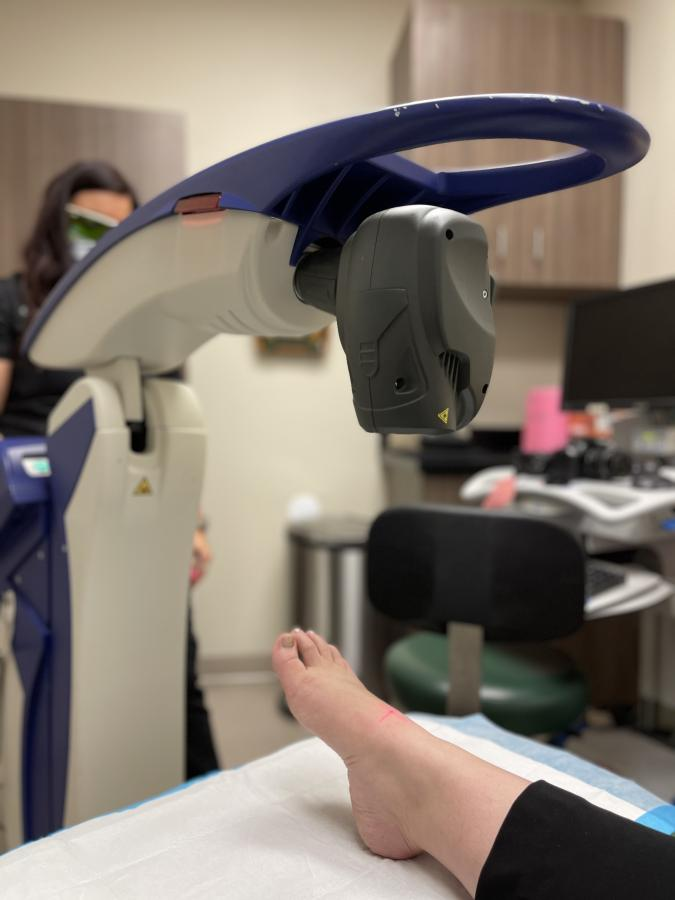 MLS Laser Therapy - Operating Image